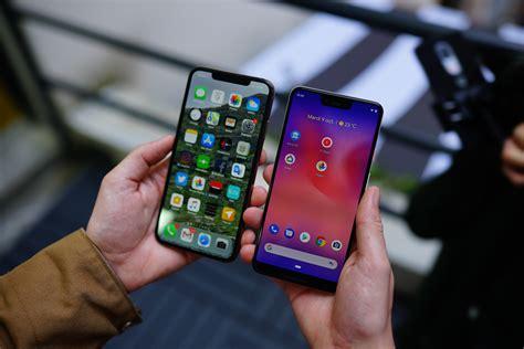 prise en des pixel 3 et pixel 3 xl okay android maintenant on peut discuter