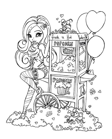 Fresh N Hot By Jadedragonne On Deviantart Pin Up Coloring Pages Printable