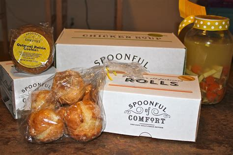 spoonful of comfort reviews spoonful of comfort gift baskets livin the mommy life