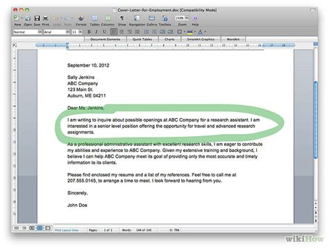 download what do you write in a cover letter