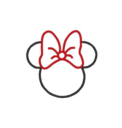 mickey mouse silhouette template mickey mouse ears clip cliparts co