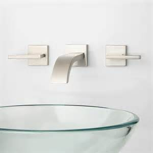 bath series single hole wall mount bathroom bath bathroom faucets wall mount sink faucets at the home depot