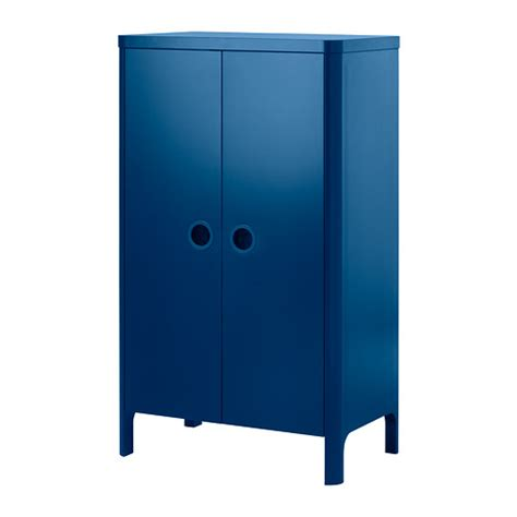 busunge wardrobe medium blue 80x139 cm ikea