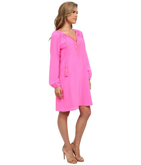 Tunic Vitoria 2 Dress lyst lilly pulitzer roslyn tunic dress in pink