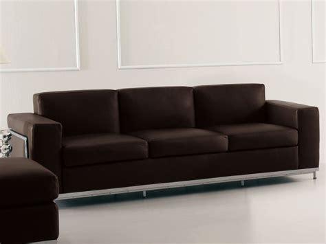 sofa direkt ledersofa bergamo 3 sitzer klassiker direkt chefzimmer