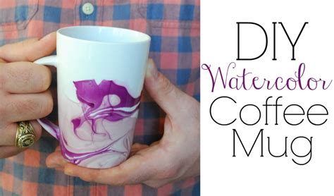 mug design using nail polish watercolor coffee mugs easy diy gifts youtube