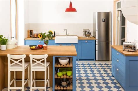 Moderne Shaker Küche by Blaue K 252 Che M 246 Belideen