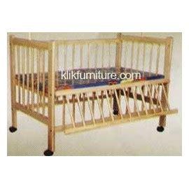 Ranjang Kayu Ramin baby box ranjang tempat tidur bayi ramin qq
