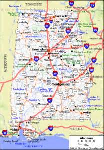 road map of alabama road map of alabama my
