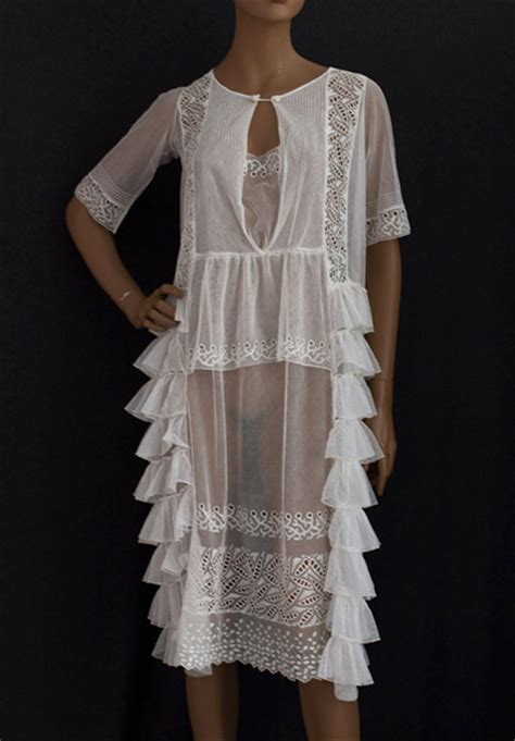 1920s Fashion At Vintage Textile by 1920s Clothing At Vintage Textile 2380 Embroidered