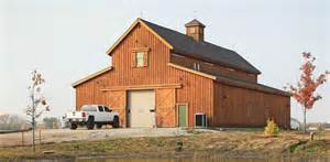 Kings Storage Barns Traditional Wood Barn Great Plains Western Horse Barn