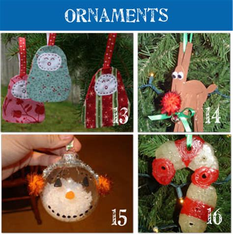christmas decorations to make at home for kids 28 homemade christmas ornaments to make tip junkie