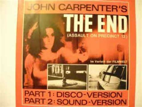 John Carpenter S Assault On Precinct 13 Vhs Cover Art - john carpenter s the end assault on precinct 13 disco