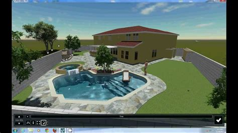 lumion tutorial animation the swimming pool project with lumion animation software