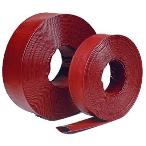 Selang Air Flexibel Flat Hose high pressure wholesale lay flat discharge hose pool filter backwash discharge fill up hose