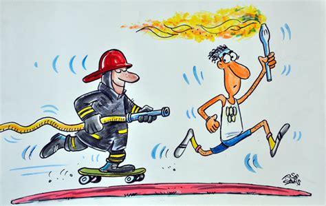 imagenes navideñas humoristicas caricaturas humor 237 sticas bomberos humor de camino