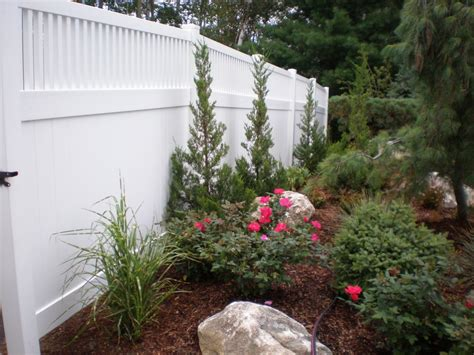 Garden Accents Hill Ca Vinyl Fence Gallery Hill Fence
