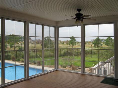 Installing Windows for Screened Porch Sunroom