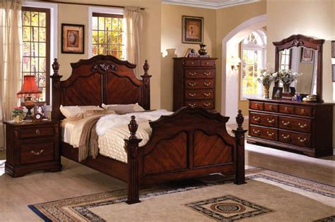 cherry bedroom furniture design and decor theme ideas