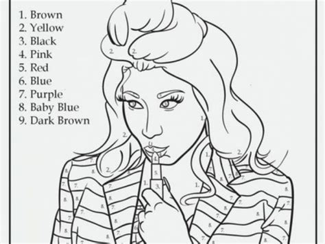 nicki minaj coloring pages get this nicki minaj coloring pages to print 95792