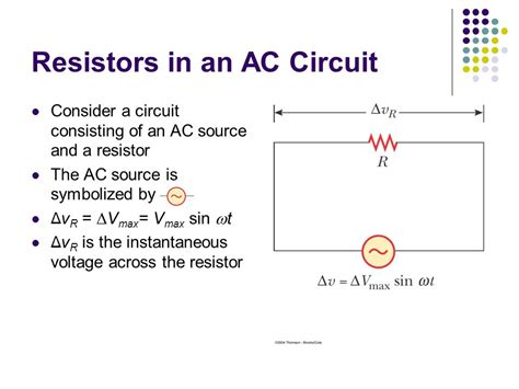 resistors and ac current alternating current circuits ppt