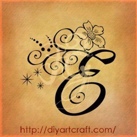 lettera e anemone tattoo tattoo pinterest anemones
