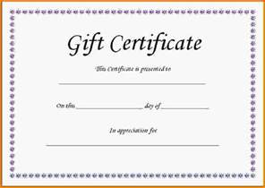 free gift certificates templates 5 gift certificate templates free letter template word