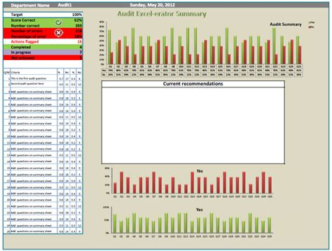 audit follow up template audit tool audit excel erator packed audits