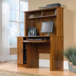 Desk With Hutch Walmart Sauder Harvest Mill Computer Desk With Hutch Oak Finish Walmart