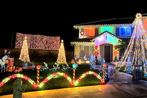 christmas lights in the inland empire westcoast media