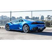 Car Picker  Blue Lamborghini Huracan