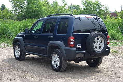 06 Jeep Liberty 2006 Jeep Liberty Gentry Automobiles
