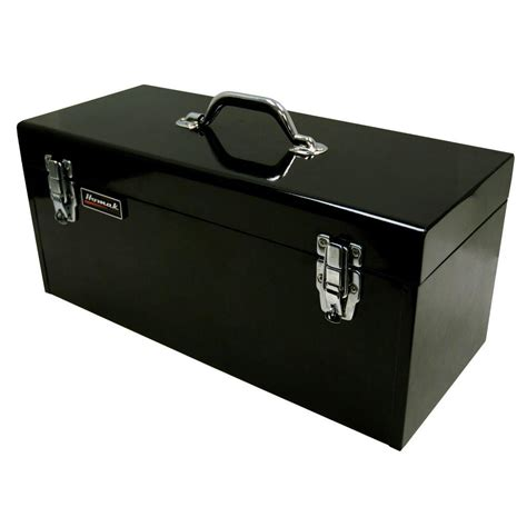home depot tool box homak 20 in tool box black bk00120920 the home depot