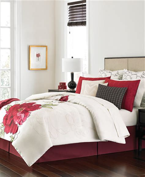 macy s martha stewart bedding martha stewart collection plum blossom 14 pc queen