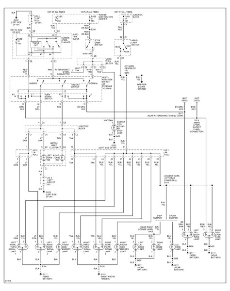 wiring diagram dodge dakota 2002 wiring diagram with