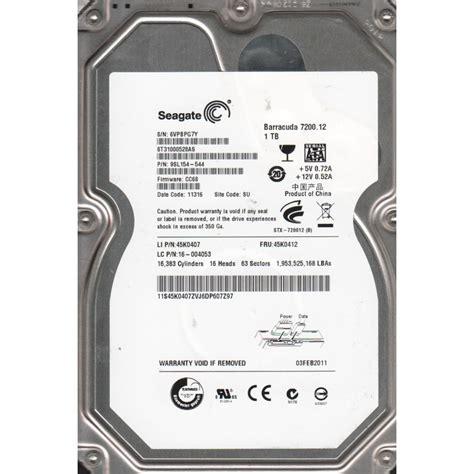 Hardisk Sata Seagate 1tb disk second seagate barracuda 7200 rpm 1 tb sata