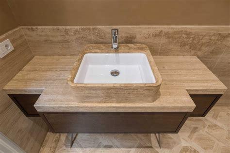 sala da bagno sala da bagno in travertino velluto eera bagno