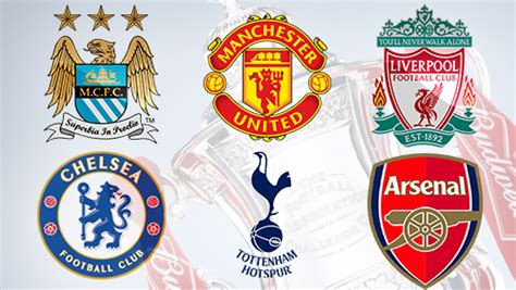 epl big 6 bookmakers expecting 6 teams for 2013 14 english premier