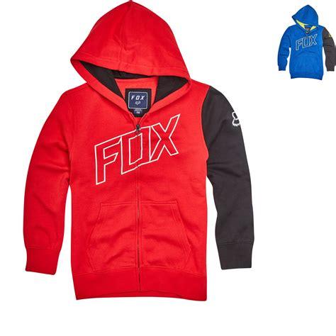 Sweater Hoodie Zipper Mx Pro Racing Sweater Road Race fox racing youth moto vation zip fleece hoodie new