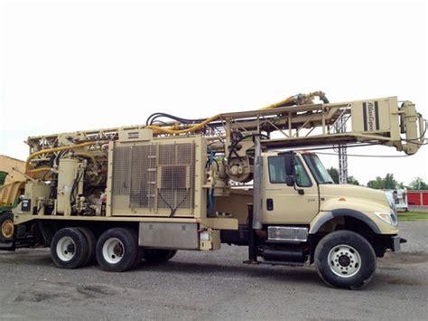 atlas copco tw water  drill rig venture