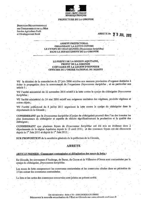 Arrêtés d'admin. générale | Mairie de SADIRAC
