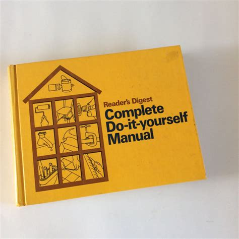 do it yourself manual book 1970s home manual woodworking