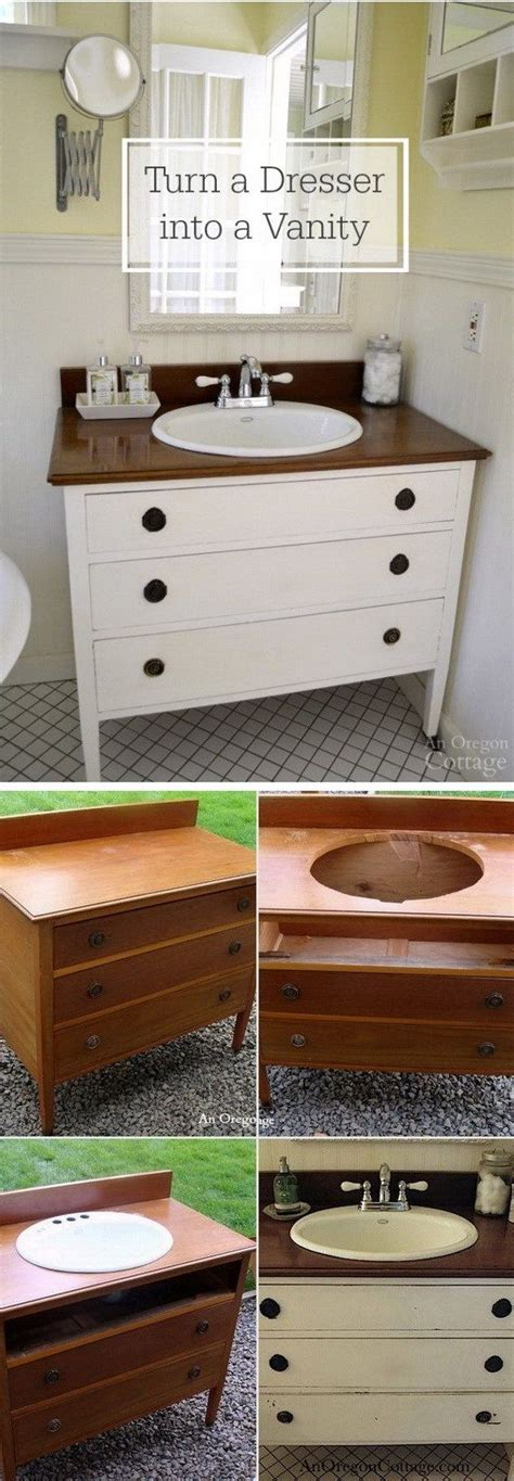 Diy Bathroom Furniture Best 25 Dresser Sink Ideas On Dresser To Bathroom Vanity Dresser Into Bathroom