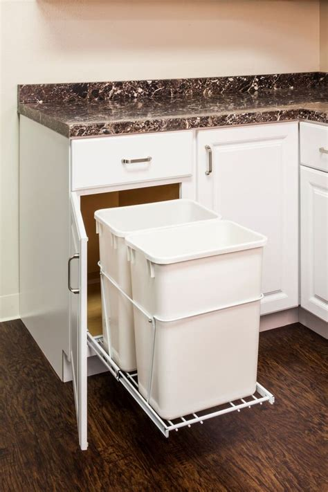 Kitchen Cabinet Trash Bin 25 Best Kitchen Trash Cans Ideas On Trash Can Kitchen Trash Can Cabinet And