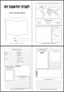 country report template middle school passport for