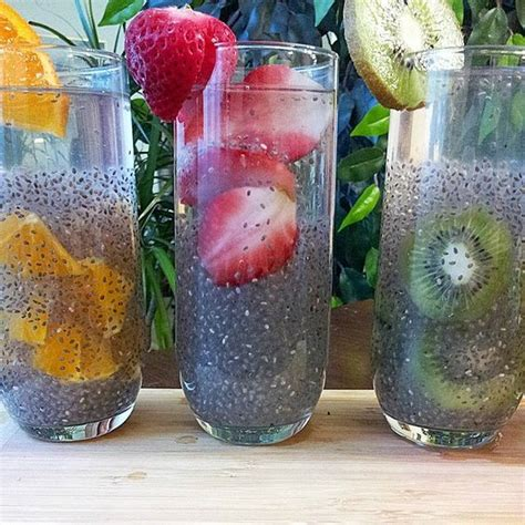 Detox With Chia Seeds by Hair And Nails Drinks And Hair On