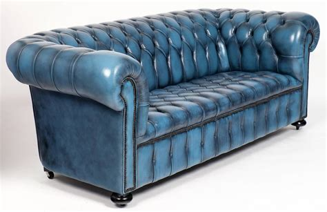 blue chesterfield sofa teal leather chesterfield sofa idea teal chesterfield sofa