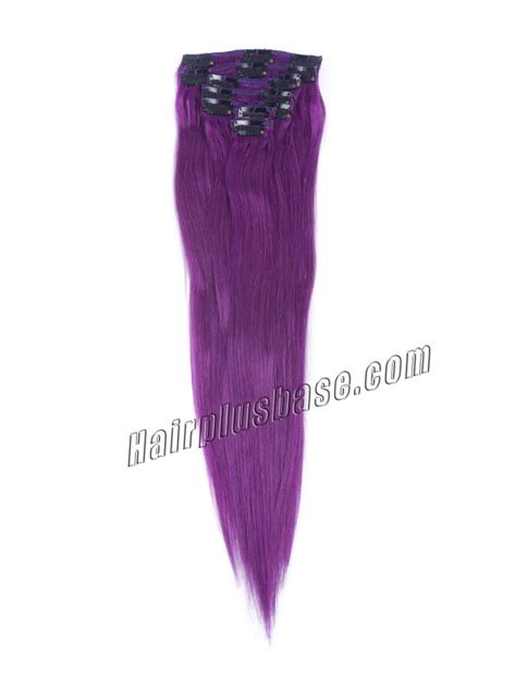 18 inch clip in human hair extensions 18 inch lila clip in remy human hair extensions 7pcs