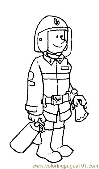 coloring pages various jobs coloring page 07 peoples