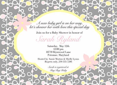 baby shower invitations wordings dolanpedia invitations